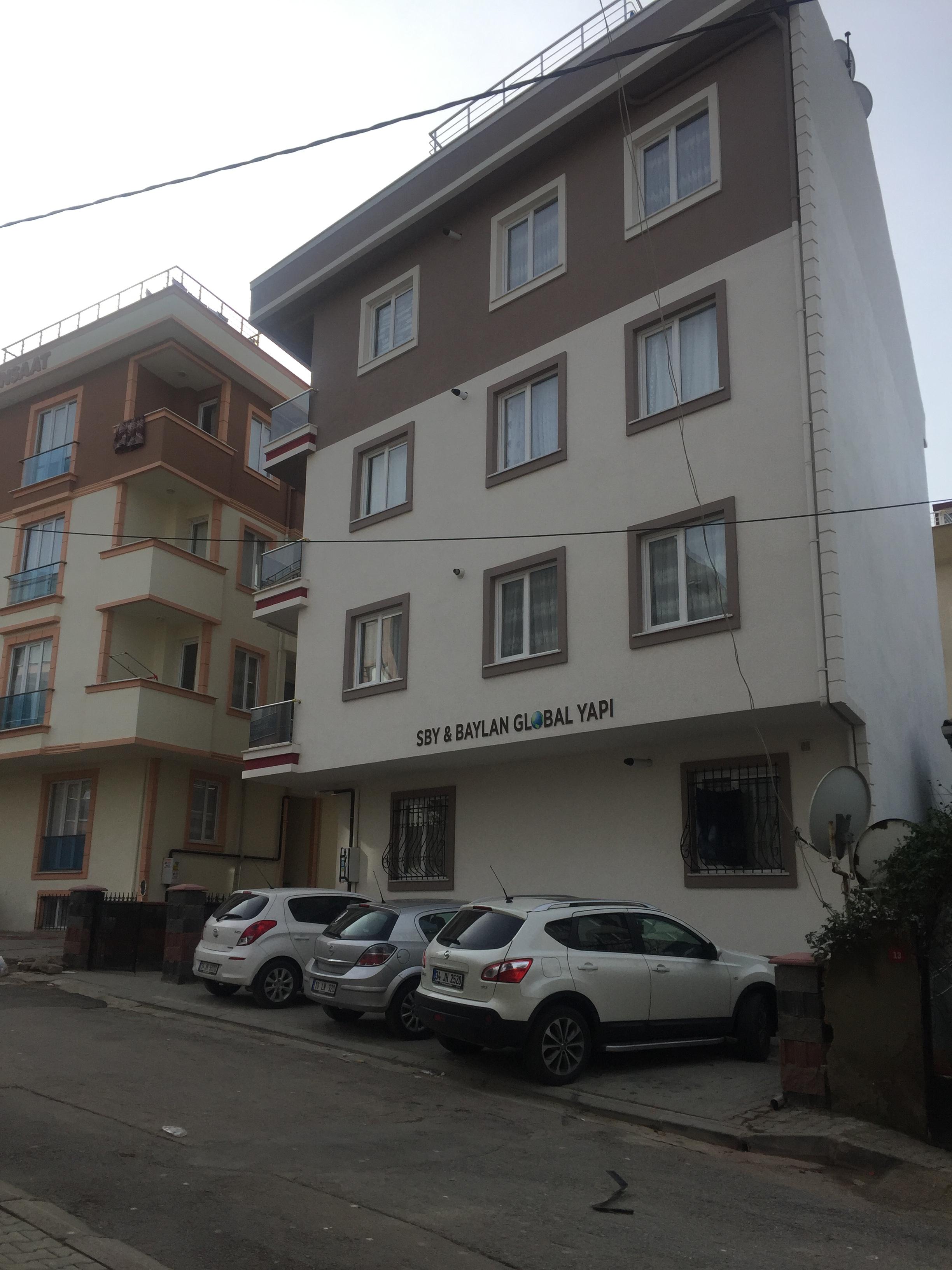 Baylan Global Yapı Samandıra ÇAKMAK apartmanı