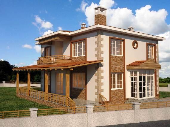 Tokat Turhal Çaylı Köyü Ova mahallesi Dublex daire